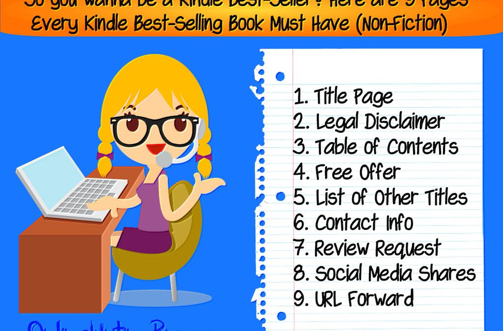 9 Pages Every Kindle Best-Selling eBook Must Include, According to Steve Scott