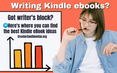 Want to Be a Best-Seller? Do THIS to Come Up With Ideas for Your Next Kindle eBook